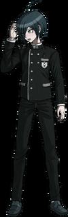 Danganronpa V3 Shuichi Saihara Fullbody Sprite (No Hat) (9)