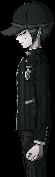 Danganronpa V3 Shuichi Saihara Halfbody Sprite (Debate Scrum) (1)
