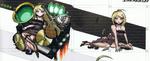 Art Book Scan Danganronpa V3 Top Secret Kaede Akamatsu Unused PTA Illustrations