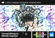 Danganronpa V3 Bonus Mode Card Tsumugi Shirogane U ENG