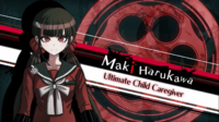 Danganronpa V3 Maki Harukawa Introduction (Demo Version)