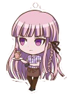 Danganronpa 1.2 Reload x Sweets Paradise Keychain Kyoko Kirigiri