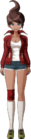 Danganronpa 1 Aoi Asahina Fullbody Sprite (PSP) (4)