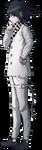 Danganronpa V3 Kokichi Oma Fullbody Sprite (Debate Scrum) (4)
