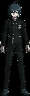 Danganronpa V3 Shuichi Saihara Fullbody Sprite (No Hat) (29)