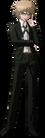 Danganronpa 1 Byakuya Togami Fullbody Sprite (PSP) (10)