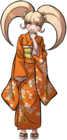 Danganronpa 2 Hiyoko Saionji Fullbody Sprite (PSP) (10)