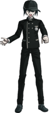 Danganronpa V3 Shuichi Saihara Fullbody Sprite (Hat) (19)