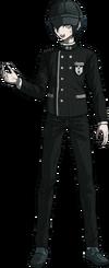 Danganronpa V3 Shuichi Saihara Fullbody Sprite (Hat) (8)
