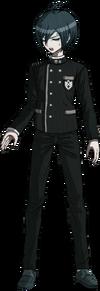 Danganronpa V3 Shuichi Saihara Fullbody Sprite (No Hat) (11)