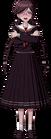 Danganronpa 1 Toko Fukawa Full Body Sprite (PSP) (13)