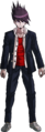 Danganronpa V3 Kaito Momota Fullbody Sprite (High School Uniform) (1)