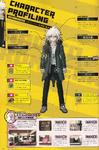 Danganronpa 2 Nagito Komaeda Character Design Profile Danganronpa 1.2 Art Book