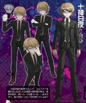 Danganronpa Another Episode Famitsu Profile Byakuya Togami