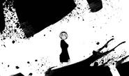 Danganronpa Gaiden KK Chap 9 Misaki looking as Takumi kills Mukuro clones