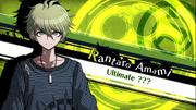Danganronpa V3 Rantaro Amami Introduction (Demo Version)