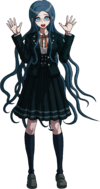 Danganronpa V3 Tsumugi Shirogane Fullbody Sprite (Mastermind) (11)