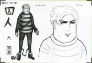 Art Book Scan Danganronpa V3 Character Designs Betas Ryoma Hoshi (1)