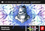 Danganronpa V3 Bonus Mode Card Monokuma U ENG