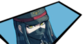 Danganronpa V3 Korekiyo Shinguji Debate Scrum Win Mugshot