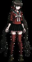 Danganronpa V3 Maki Harukawa Fullbody Sprite (14)
