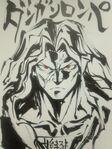 Danganronpa The Animation - Lerche Twitter Sketches - Sakura Ogami