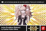 Danganronpa V3 Bonus Mode Card Mukuro Ikusaba S FR