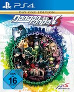 Danganronpa V3 German Box Art (PS4)