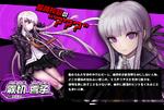 Promo Profiles - Danganronpa 1.2 (Japanese) - Kyoko Kirigiri