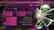 Danganronpa V3 K1-B0 Keebo Ki-Bo Report Card (Demo Version)