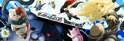 File:Danganronpa V3 x Gravity Rush Twitter Header.jpg