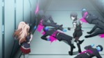 Despair Arc Episode 6 - Mukuro being told to clean up