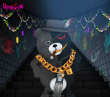 Monokuma Factory Wallpapers Set 3D Kurokuma 1440 x 1280