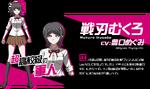 Promo Profiles - Danganronpa 3 Despair Arc (Japanese) - Mukuro Ikusaba