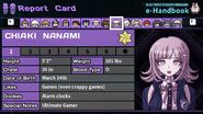 Chiaki Nanami's Report Card Page 1