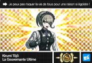Danganronpa V3 Bonus Mode Card Kirumi Tojo S FR