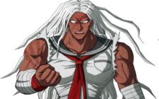 Danganronpa 1 Sakura Ogami Halfbody Sprite (PSP) (5)