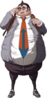 Danganronpa Hifumi Yamada Fullbody Sprite (PSP) (3)