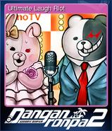 Danganronpa 2 - Steam Trading Card - Ultimate Laugh Riot