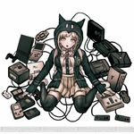 Danganronpa 2 Character Illustration - Chiaki Nanami