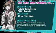 Danganronpa 3 Personality Quiz Chisa Yukizome