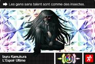 Danganronpa V3 Bonus Mode Card Izuru Kamukura U FR