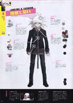 Danganronpa Another Episode Art Book Scan The Servant Looking & Fashion
