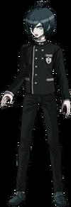 Danganronpa V3 Shuichi Saihara Fullbody Sprite (No Hat) (10)