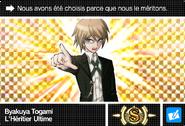 Danganronpa V3 Bonus Mode Card Byakuya Togami S FR