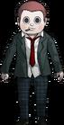 Danganronpa V3 Ryoma Hoshi Halfbody Sprite (High School Uniform) (1)
