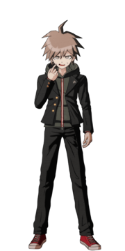 Makoto Naegi Fullbody Sprite 14
