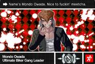 Danganronpa V3 Bonus Mode Card Mondo Owada N ENG