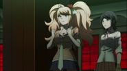 Despair Arc Episode 11 - Junko keeping Makoto alive