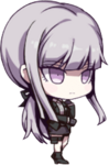 Girls Gun 2 x Danganronpa Chibi Kirigiri Doll